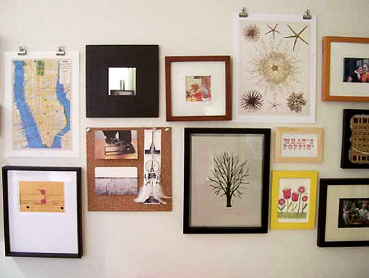 Hanging pictures tips