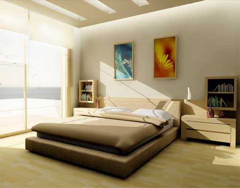 3 colors 3 styles in bedroom the man cave for Minimalist bedroom colors