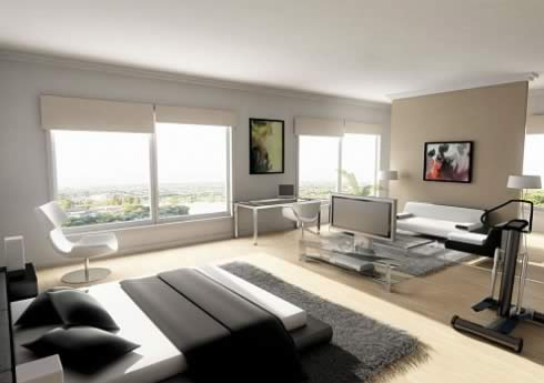 bachelor apartment decoration the man cave. Black Bedroom Furniture Sets. Home Design Ideas