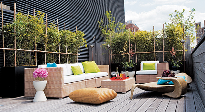 Terrace Decoration Ideas The Man Cave