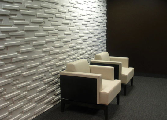 Decorative modular panels to create unique environments - Paneles 3d para pared ...