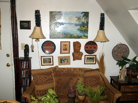 African Decor The Man Cave