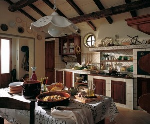 Rustic kitchen how to decorate the man cave - Cocinas rusticas pequenas ...