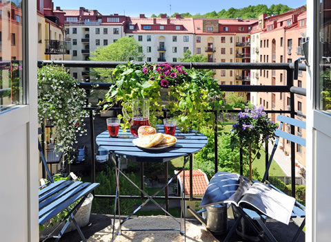 Stylish ideas for balconies | The Man Cave