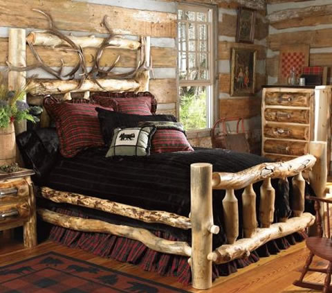 rustic style for room decoration the man cave