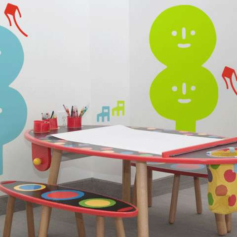 children desk design