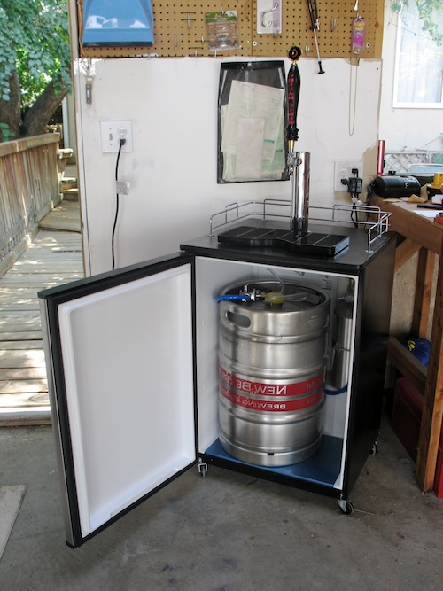 The Man Cave Installing A Draft Line For Your Home Brew